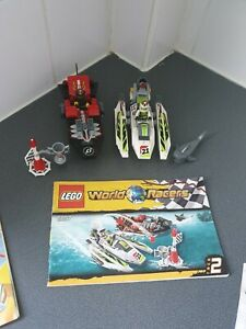LEGO 8897 WORLD RACERS 8897 100% COMPLETE