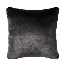 ADAIRS HOME REPUBLIC MONTANA CHARCOAL FUR CUSHION BRAND NEW!
