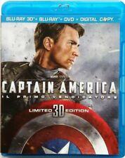 Captain America - The First Avenger in 3D(Blu Ray,2011) Italy Import-Region B