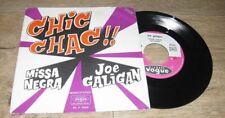 JOE GALIGAN - Chic Chac French PS 7' Pop Jazz Eurogroove 72'