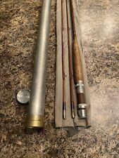 Vintage 8 1/2' Orvis Impregnated Battenkill Bamboo Fly Rod Serial #43338