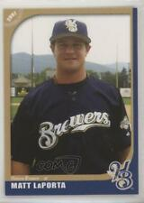 2007 Grandstand Helena Brewers Matt LaPorta #91