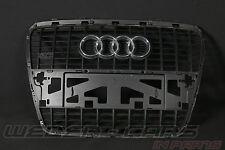 Audi A6 4F S-Line SLINE Grill Kühlergrill single radiator frame grau 4F0853651L