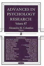 Advances in Psychology Research: 47: v. 47 - New Book