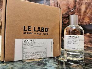 Le Labo Santal 33 Eau De Parfum 100ml Authentic Sealed Free Shipp Sale