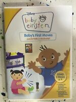 Baby Einstein DVD BABY'S FIRST Moves Alzati Y Spostare Spagnolo Inglese Am
