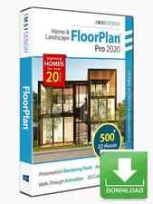 FloorPlan 2020 Home & Landscape Pro with Lightworks Windows Electronic Download
