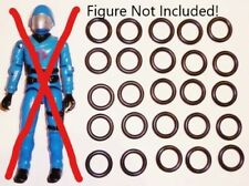 GI JOE COBRA FIGURE BODY REPAIR REPLACEMENT PART  LOT OF 50 NEW O RING ORINGS