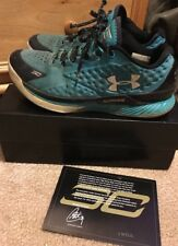 Under Armour Curry 1 One Low Panthers Size 10.5 Blue Steph Curry UA Used Box