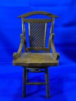 "Vintage Musical Revolving Doll Chair--plays ""We Wish You A Merry Christmas"