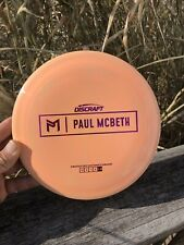 Discraft Paul Mcbeth Prototype Zeus Bright Orange Esp Plastic 170-172 Grams