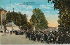 Ste. Anne de Beaupre Park Procession 1922 Quebec City - Colored Unposted Good