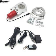 """2.5"""" Y pipe Stainless Steel Electric Exhaust CutOut Kit fit Remote Control Kits"""