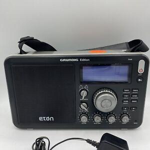 Eton Field BT Grundig Edition AM/FM Shortwave Radio With RDS And Wireless