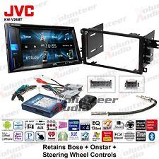 JVC KW-V25BT Double Din DVD CD Player Car Radio Install Mount Kit Bluetooth