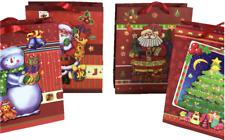 Geschenktüten Weihnachtstüte Weihnachten Weihnachtstaschen Taschen mit 3D Effekt