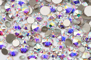Swarovski® Crystals for Nail Art 2000, 2058 & 2088 Mixed Packets ALL COLOURS