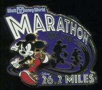 Disney 25th Anniversary Marathon Weekend 25 Years Button Pin WDW 2018 Run