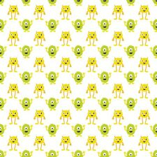 12 ASSORTED CUTE MONSTER BACKING PAPERS FOR CARD & SCRAPBOOK MAKING
