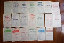 More details for 1949 western region railway handbills timetable x20 ref b35
