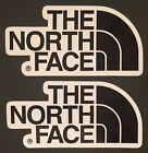 The North Face Vinyl Sticker Decal Fishing Hiking Camping X 2