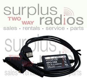 Kenwood KPG-36X USB Programming Cable NX200 NX300 NX5300 NX5320 NX5310 KPG-36U