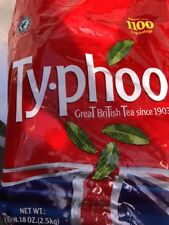 Typhoo Tea Bags 1100 ONE Cup Teabags 2.5kg