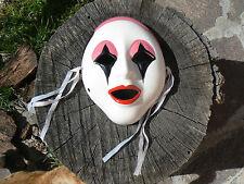 NUOVO Maschera Pierrot in porcellana da appendere 7