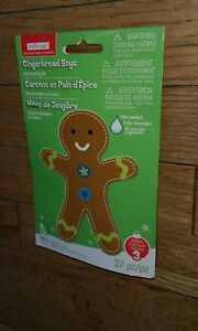 Creatology GingerBread Man Boys Holiday Noel Navidad Christmas arts & Crafts kit