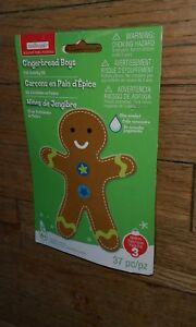 Creatology GingerBread Man Boys Holiday Noel Navidad Christmas arts & Crafts kit