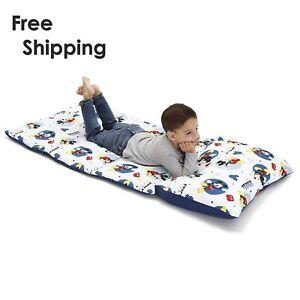 Disney Mickey Mouse Toddler Sleeping Bag Padded Nap Mat Travel PillowCase 2daySH