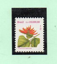 Brasil Flores Serie del año 1993 (CT-981)
