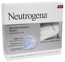 Neutrogena Microdermabrasion System 12 Puffs Wrinkles Pores Age Spots Firmness