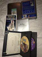 Treasures Walt Disney 2-DVD Tin Set+Paperwork Mickey Mouse Living Color 1939 +