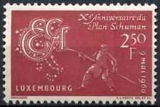 Luxembourg 1960 SG#670 Tenth Anniv Of Schuman Plan MNH #D99069