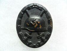 Original German WW2 wound badge in black
