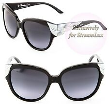 CHRISTIAN DIOR Sunglasses DIOR GRANDBAL V4RHD Black Silver LIMITED EDITION!!!
