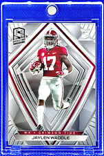 JAYLEN WADDLE 2021 PANINI SPECTRA SILVER CHROME JERSEY #17 ROOKIE RC DOLPHINS🔥