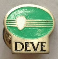 DEVE Brand Small Pin Badge Rare Vintage Advertising (F9)