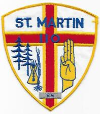 St. Martin Troop 110 Jacket Patch Boy Scouts of America BSA
