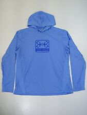 Under Armour Long Sleeve Hooded Shirt Fishing Iso Chill Size Xl active underlay