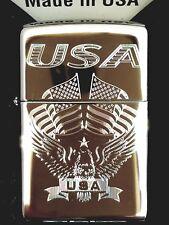 5caace5c6a86 Zippo 250 Eagle Flag USA 250-03199