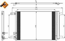 NRF Condenseur de climatisation pour AUDI A3 35968 - Pièces Auto Mister Auto