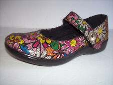 New SPRING STEP women's floral prof nursing/comfort mary-jane style shoes  6M