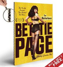 The Notorious Bettie Page Movie POSTER A4 GLOSSY PRINT * Gretchen Moll 2006