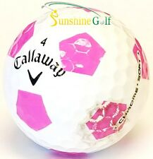 12 Aaa Callaway Chrome Soft Pink Truvis Used Golf Balls (3A) - Free Shipping