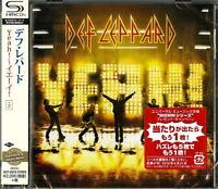 DEF LEPPARD-YEAH!-JAPAN  SHM-CD E50
