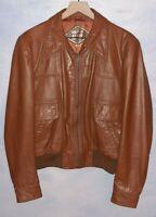 Vintage Leather Jacket By Golden State