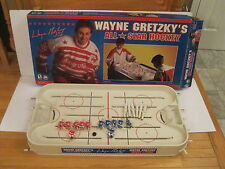 Vintage-Wayne Gretzky NHL ALL STAR  Table Rod Hockey Game  with Box