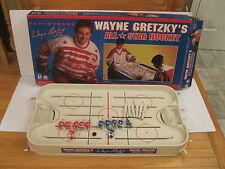 Vintage-Wayne Gretzky NHL ALL STAR  Table Rod Hockey Game  with Box